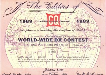 CQWW DX Contest #2 in the World
